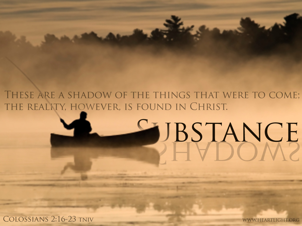 PowerPoint Background using Colossians 2:17