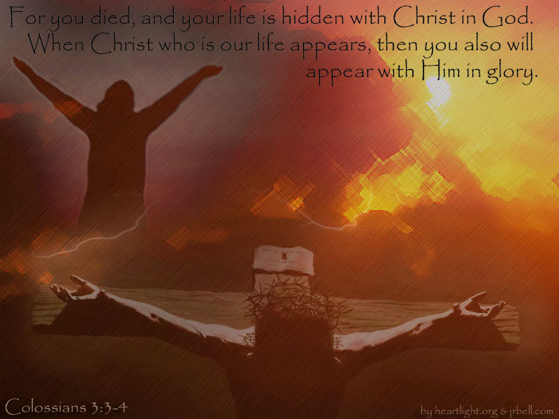 PowerPoint Background using Colossians 3:1-4