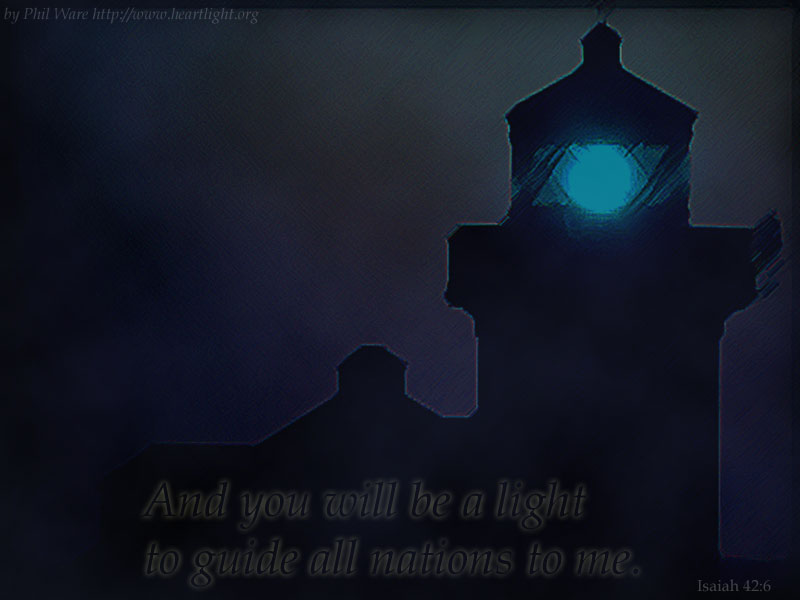 PowerPoint Background using Isaiah 42:6