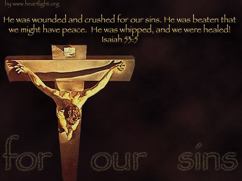 PowerPoint Background using Isaiah 53:5