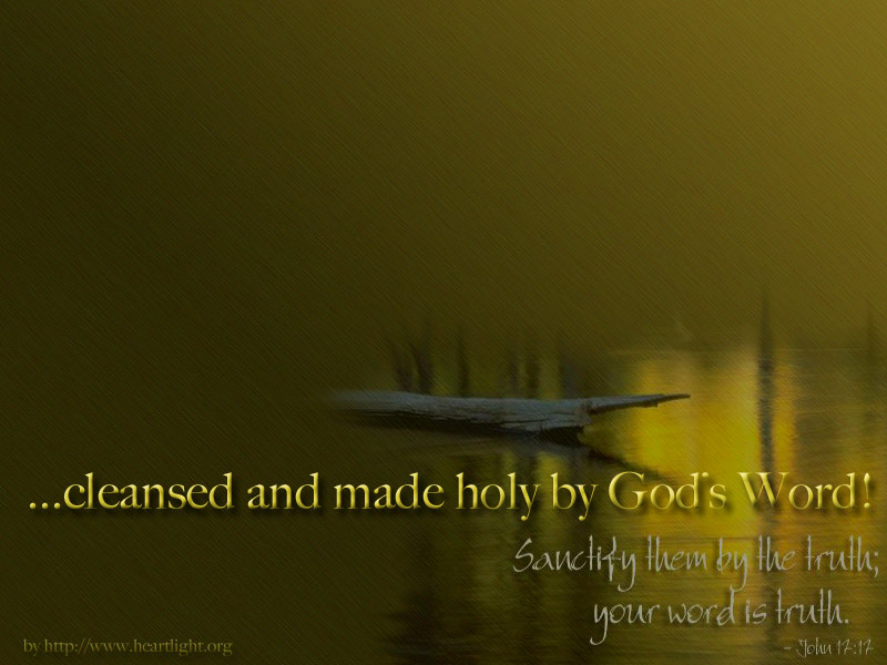 PowerPoint Background using John 17:17