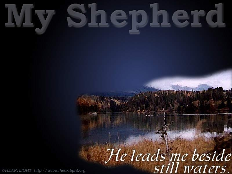 PowerPoint Background using Psalm 23:2