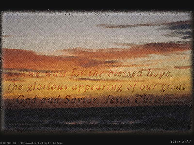 PowerPoint Background using Titus 2:13