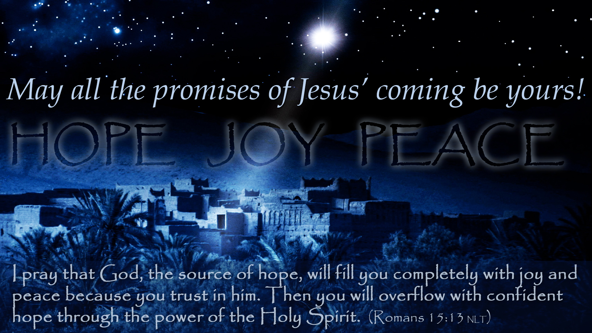 Merry Christmas 2016 / May all the promises of Jesus\' coming be ...