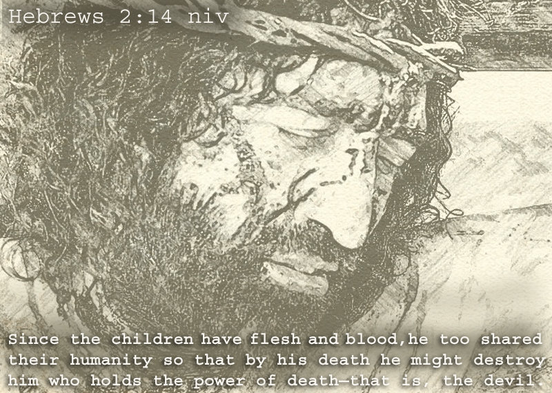 Illustration of Hebrews 2:14 New 2015 on Flesh