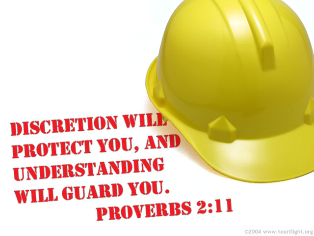 Illustration of Proverbs 2:11 on Knowing God