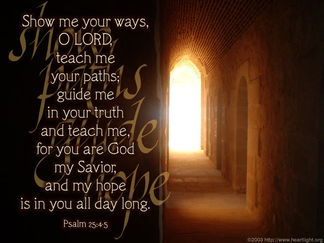 Image result for psalm 25