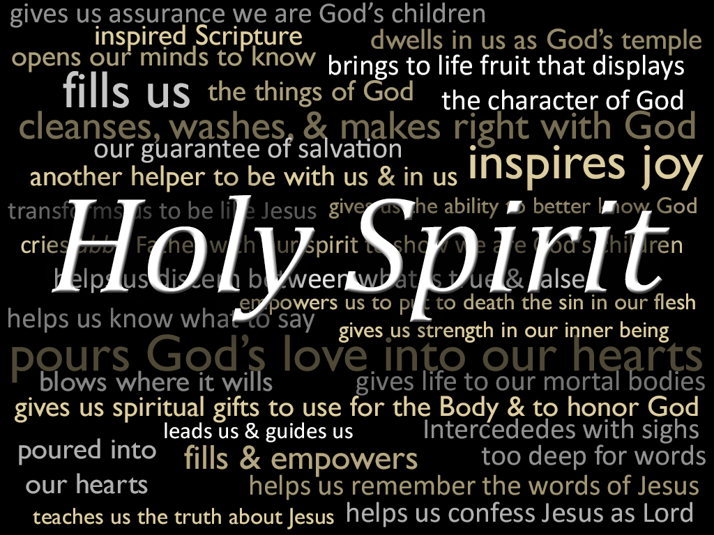 The holy spirit the holy spirit brings grace beyond description scripture illustration of the holy spirit negle Choice Image