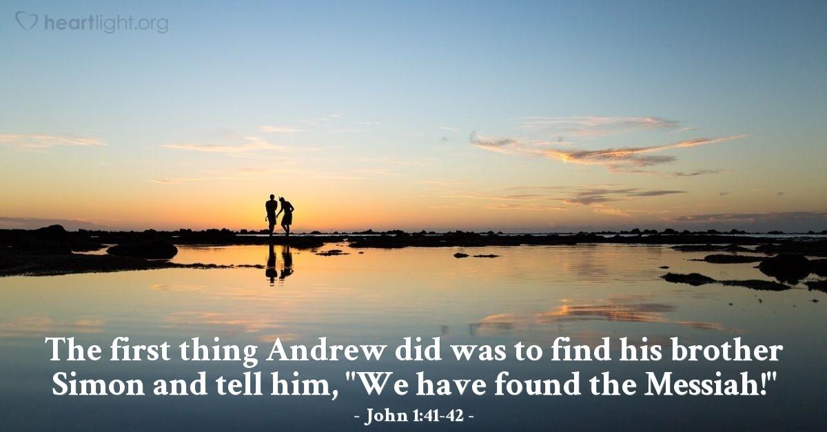 Kuvahaun tulos haulle John 1:41
