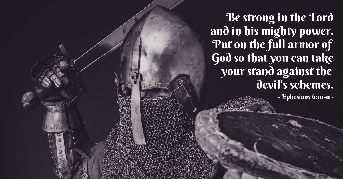 Image result for be strong in the lord and in his mighty power