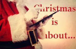 Christmas is about...