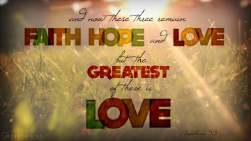 PowerPoint Background: 1 Corinthians 13:13