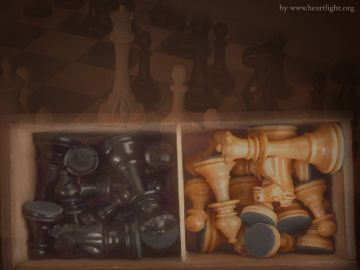 PowerPoint Background: Chess Pieces