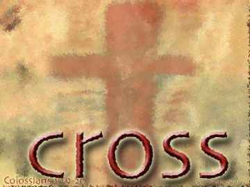 PowerPoint Background: Colossians 1:19-20 Title