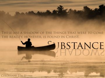 PowerPoint Background: Colossians 2:17 Full