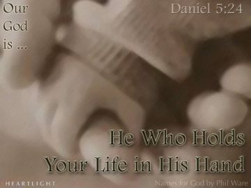 PowerPoint Background: Daniel 5:24