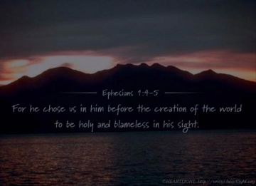 PowerPoint Background: Ephesians 1:4-5 - Background