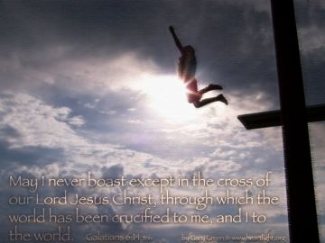 PowerPoint Background: Galatians 6:14 Text