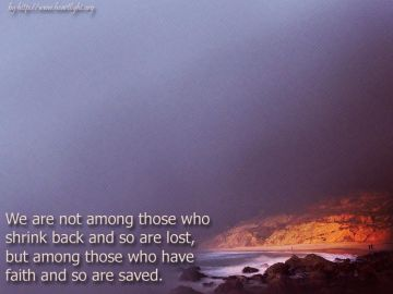 PowerPoint Background: Hebrews 10:39 - Main