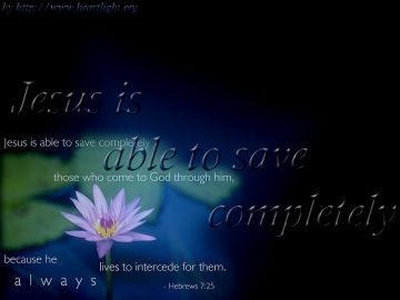 PowerPoint Background: Hebrews 7:25 Main