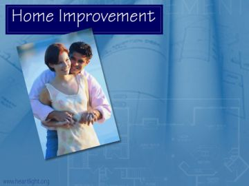 PowerPoint Background: Home Improvement Main