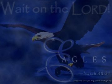 PowerPoint Background: Isaiah 40:31 - Light