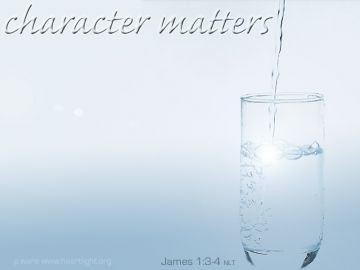 PowerPoint Background: James 1:3-5 Plain