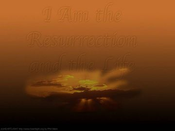 PowerPoint Background: John 11:25