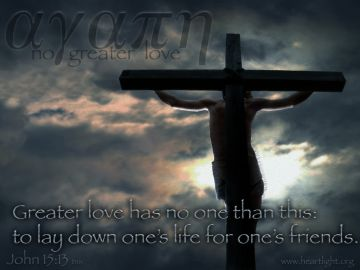 PowerPoint Background: John 15:13 Full