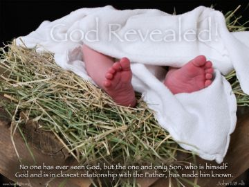 PowerPoint Background: John 1:18 Full
