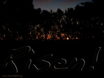 PowerPoint Background: Luke 24:1-5 Risen