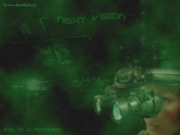 PowerPoint Background: Psalm 139:11-12 - Night Vision 2