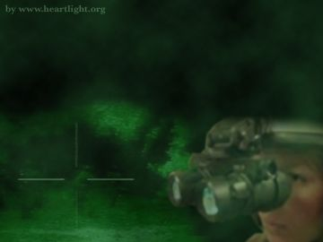 PowerPoint Background: Psalm 139:11-12 - Night Vision 1