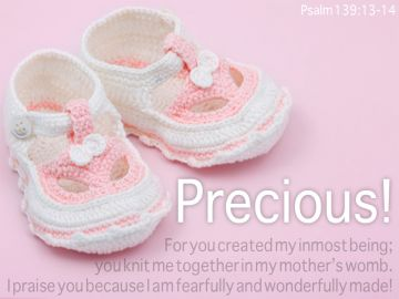 PowerPoint Background: Psalm 139:13-14 Full