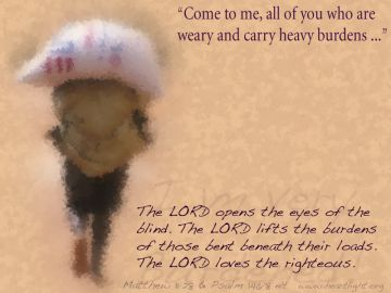PowerPoint Background: Psalm 146:8 Full