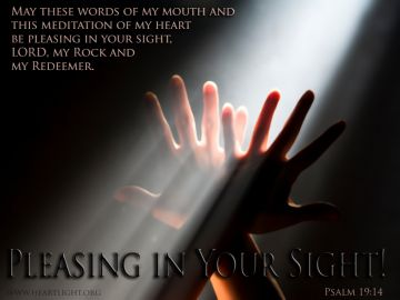 PowerPoint Background: Psalm 19:14 Full