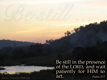 PowerPoint Background: Psalm 37:7 Text