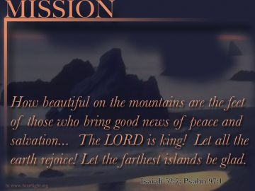 PowerPoint Background: Psalm 63:3 - Mission