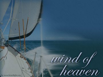 PowerPoint Background: Wind of Heaven - Title