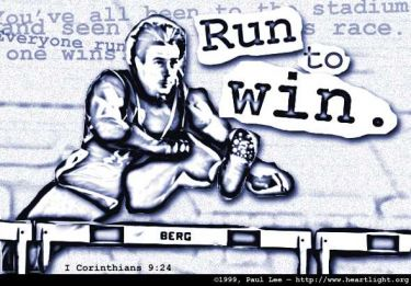 Illustration of the Bible Verse 1 Corinthians 9:24