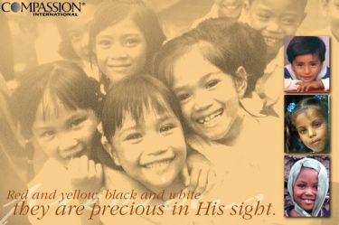 Illustration of the Bible Verse Compassion International
