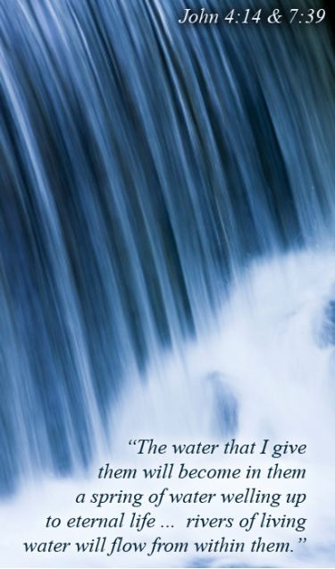 Illustration of the Bible Verse Living Water