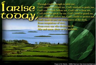 Illustration of the Bible Verse St. Patrick's 2