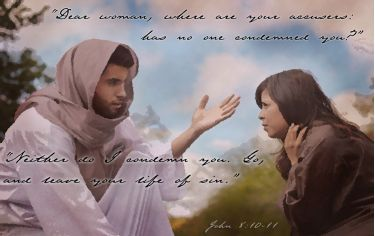 Illustration of the Bible Verse Moment of Grace