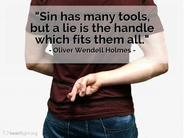 Illustration of the Bible Verse Quote by Oliver Wendell Holmes