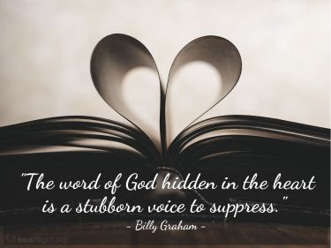 Illustration of the Bible Verse Quote by Billy Graham