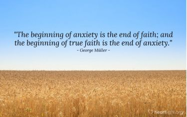 Illustration of the Bible Verse Quote by George Müller