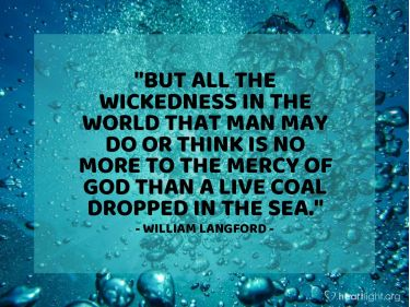 Illustration of the Bible Verse Quote by William Langford