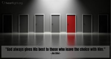 Illustration of the Bible Verse Quote by Jim Elliot