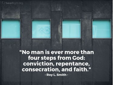 Illustration of the Bible Verse Quote by Roy L. Smith